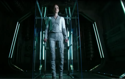Dark Matter S2x10 Android on the charging pad