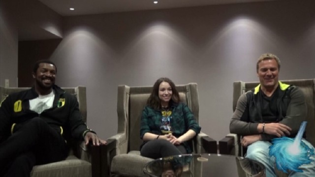 Gatecon 2016 Roger Cross, Jodelle Ferland and Mike Dopud interview