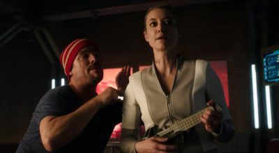 Dark Matter S3x04 Android and Three sing more French