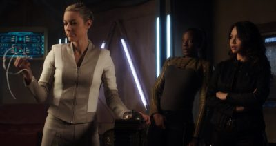 Dark Matter S3x04 The Android destroys the temporal devices ending the time loop