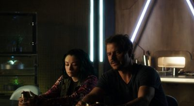 Dark Matter S3x04 Three has coffee with Five