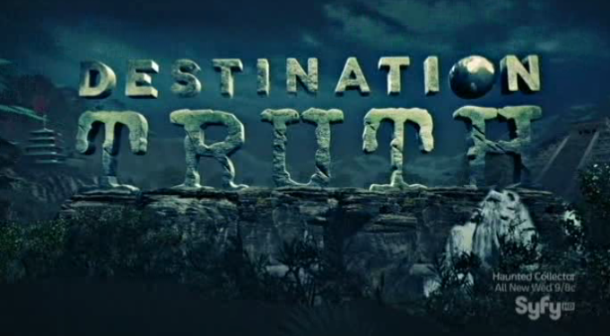 Destination Truth S5x01 New Show Logo One