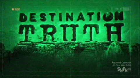 Destination Truth S5x01 DT Night Vision Logo Syfy