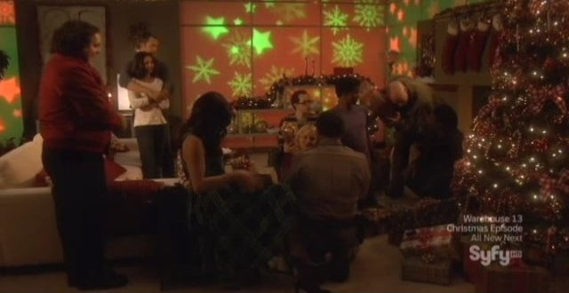 Eureka! Its Christmas  Do You See What I See? It&#8217;s Edward James Olmos as Rudy the Dog!