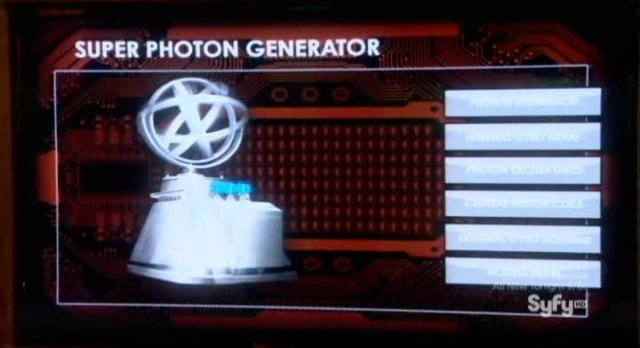 Eureka S4x21 - Super Photon Generator