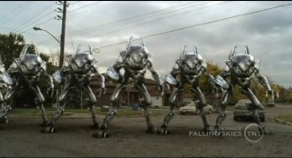 Falling Skies S1x10 Army of Mechs