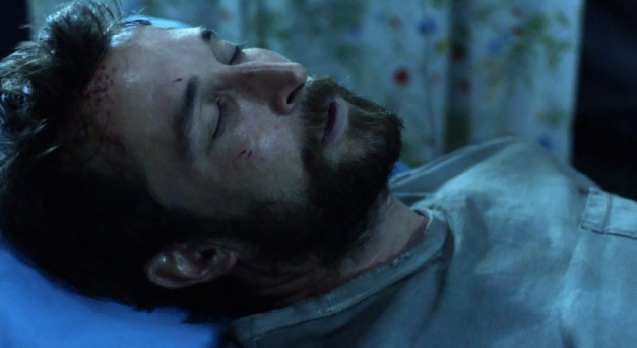 Falling Skies S2x01 Tom in recovery