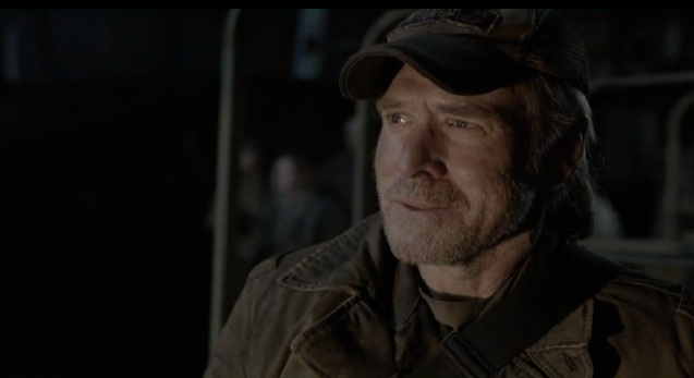 Falling Skies S2x01 Weaver happy to see Ann