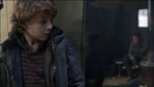Falling Skies S2x02 Matt overhears Tom and Hal
