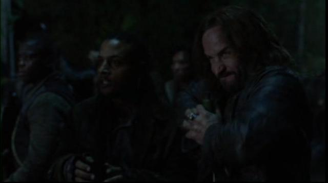 Falling Skies S2x02 Pope blows the bridge