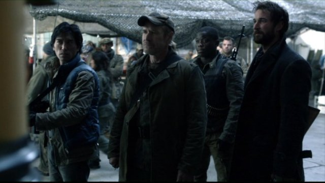 Falling Skies S2x03 - Dai, Weaver, Anthony and Tom
