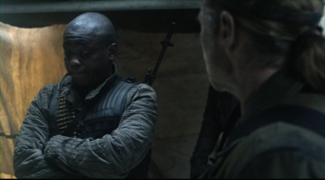 Falling Skies S2x03 - Mpho Koaho as Skitter Fighter Anthony
