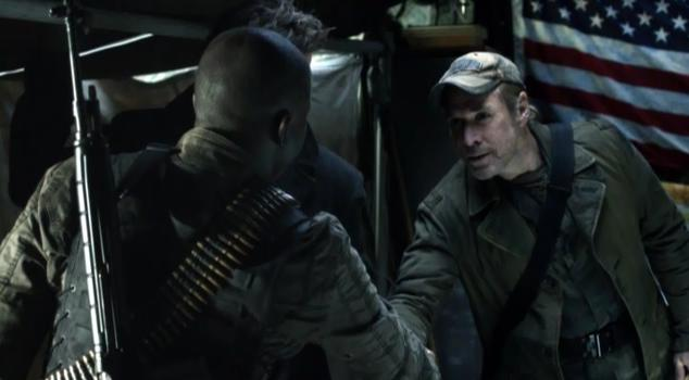 Falling Skies S2x03  - Anthony has a headdesk moment