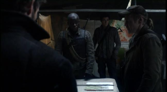 Falling Skies S2x03  - Anthony, Weaver and Tom 