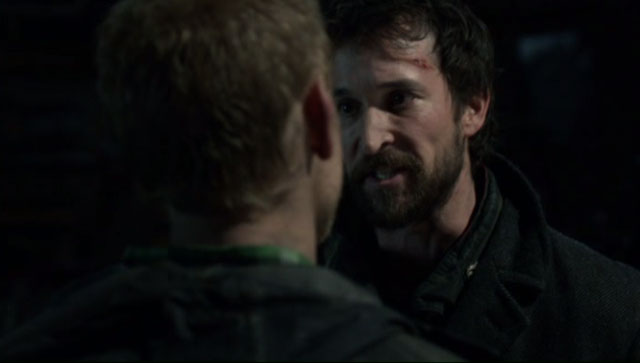 Falling Skies S2x04 - Tom Mason is enraged