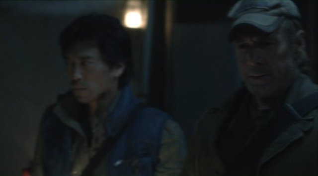 Falling Skies S2x04 - Peter Shinkoda as Dai with Will Patton as Captain Weaver
