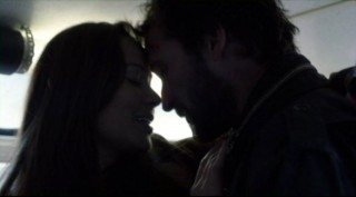 Falling Skies S2x04 - Tender moment between Anne and Tom