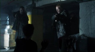 Falling Skies S2x05 - Brad Kelly as Lyle with Billy Wickman as Boon
