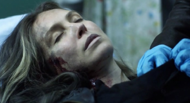 Falling Skies S2x05 Maggie was hurt