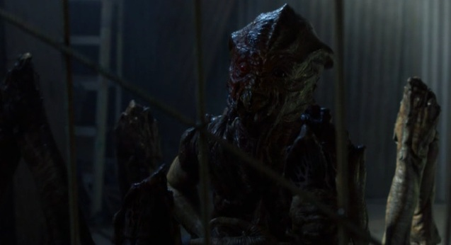 Falling Skies S2x05 Skitter talking to Tom