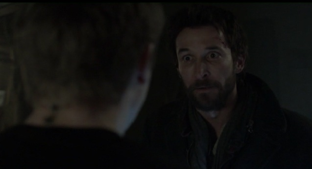 Falling Skies S2x05 Tom and Ben talking