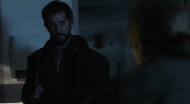 Falling Skies S2x05 Tom and Weaver talking