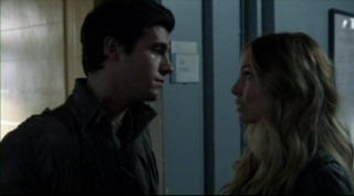 Falling Skies S2x06 - Hal and Maggie discuss the future