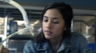 Falling Skies S2x06 - Seychelle Gabriel as Lourdes tends to the wounded