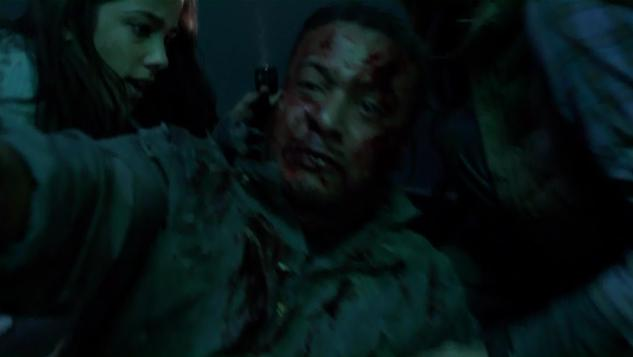 Falling Skies S2x07 Jamil tunnel no 9