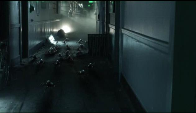 Falling Skies S2x07 Skitters chasing anne 12