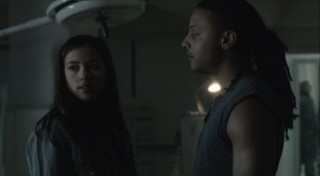 Falling Skies S2x07 - Young lovers Lourdes and Jamil