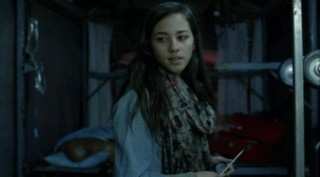 Falling Skies S2x03 - Seychelle Gabriel as lovely Lourdes