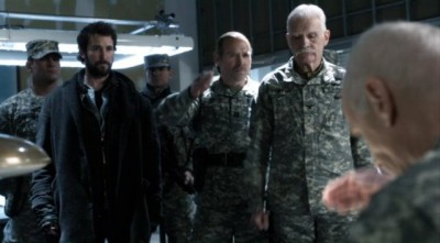 Falling Skies S2x10 - A chat with General Bressler on the price of liberty