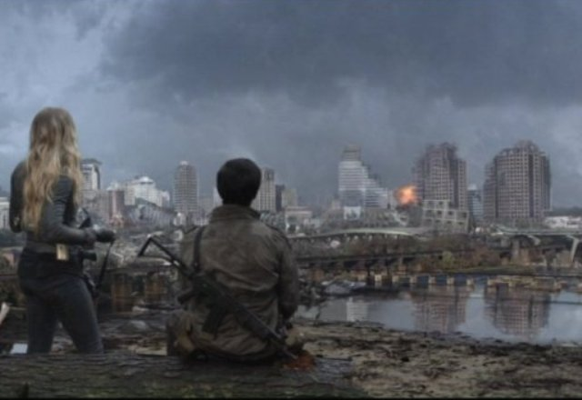 "Falling Skies: ""Love and Other Acts of Courage"" ""Time To Bond and Time To Die"""