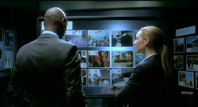 Fringe S4x10 Oliva and Broyles looking at the Observers