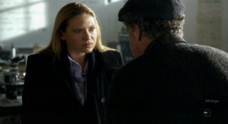 Fringe S4x12 - Olivia reacts to Walters theory