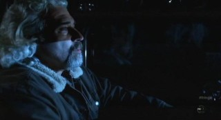 Fringe S4x12 - Truckdriver listens to Conway Twitty