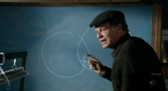 Fringe S4x12 - Walter illustrates the theory