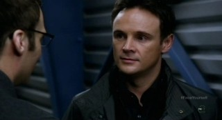 Fringe S4x17 - Kirby Morrow as Shape Shifter defector Maddox