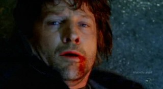 Fringe S4x17 - Tim Guinee to be absorbed by Canaan the Shape Shifter