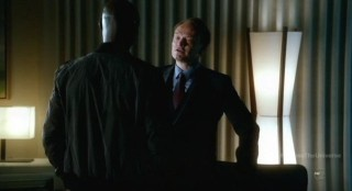 Fringe S4x18 - Alt-Broyles is blackmailed by David Robert Jones
