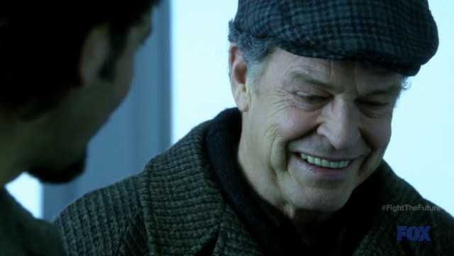 Fringe S4x19 - Walter Bishop in 2036