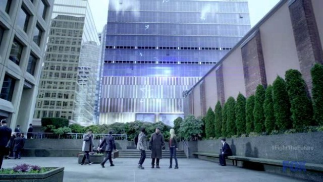 Fringe S4x19 - Anti-Matter makes Massive Dynamic building disappear