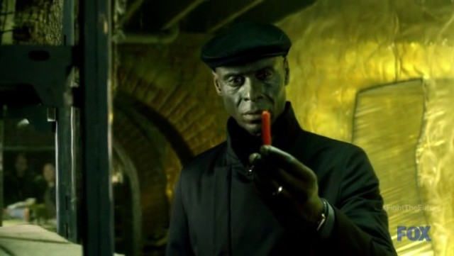 Fringe S4x19 - Broyles finds Walter's licorice
