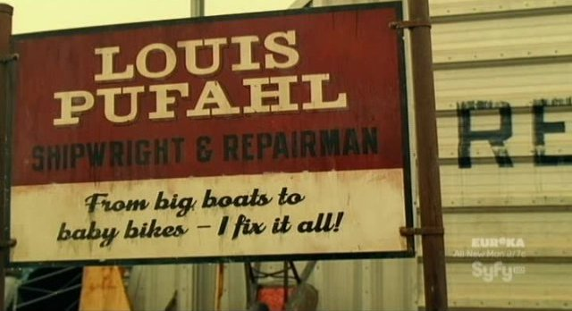 Haven S2x03 - Louis' repair shop