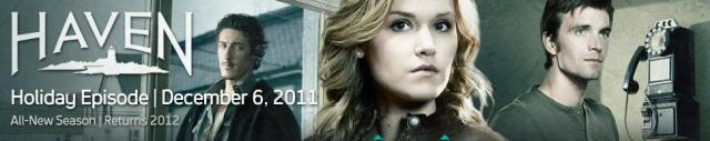 Haven Holiday Banner 2011 - Click to learn more at Syfy!