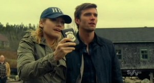 Haven S2x12 - Audrey on lookout for trouble in Haven