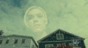 Haven S2x13 - Audrey takes a peek inside the snow globe