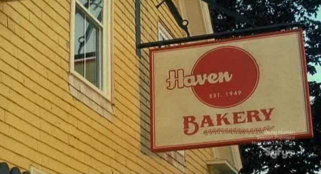Haven S2x13 - Haven Joe's Bakery is no longer