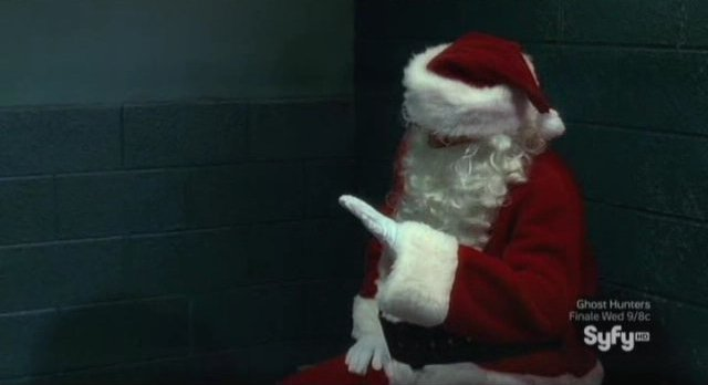 Haven S2x13 - Santa offers lap dancing
